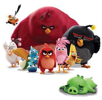 Angry Birds Movie Jpg 346 339 Desenhos Animados