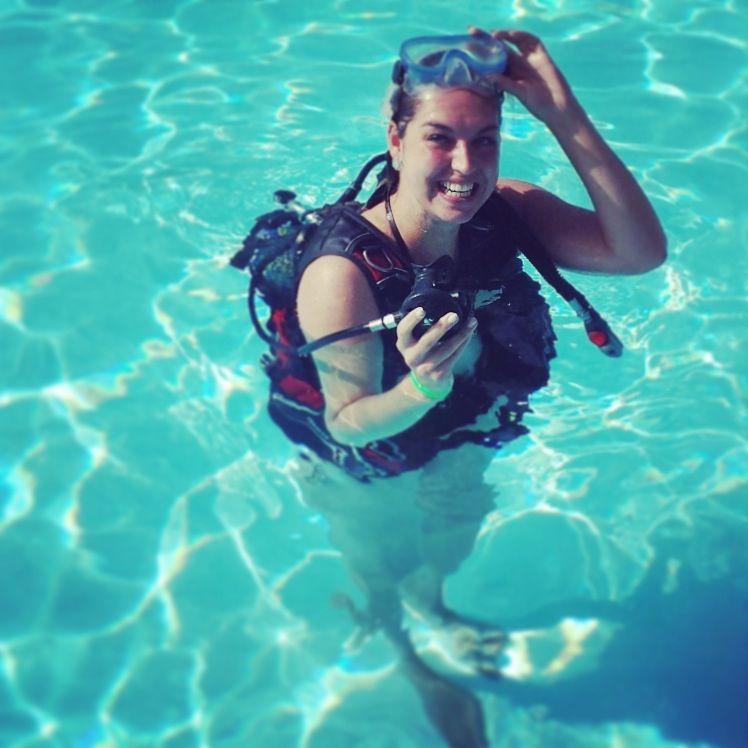 Diving at Lanzarote