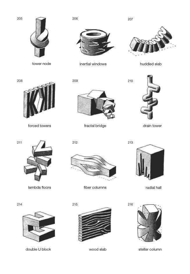 Siteless: 1001 Building Forms François Blanciak | Architectural ...