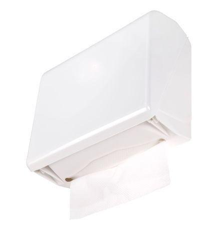 Dispensador de papel porta-toalha interfolhado em ABS UtileAmbiental