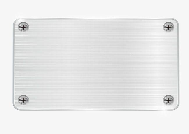 Placa De Metal Do Rebite Vector De Material Textura De Metal Placa De Metal Png E Vector Placa De Metal Metal Fundos Para Montagens