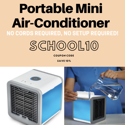 Mini Air Conditioner In 2020 Standing Air Conditioner Portable Air Conditioner Evaporative Air Cooler