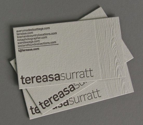 Business Card Ideas And Inspiration 10