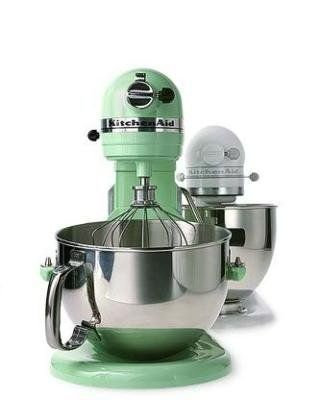 Beautiful Kitchenaid Mixer In Martha Stewartu0027s Jadeite Green    I Have The Small One,  Want The Large One.