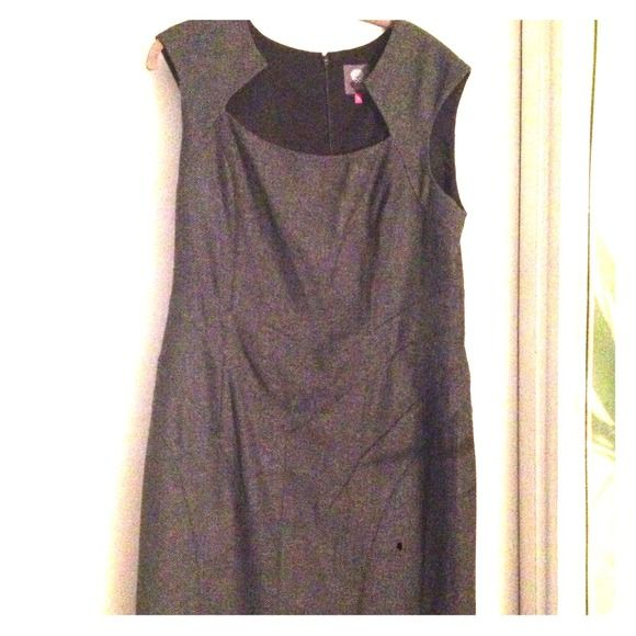 Vince Camuto tweed dress Tweed dress nwot. Perfect for the office. Fits the body right!!! Vince Dresses
