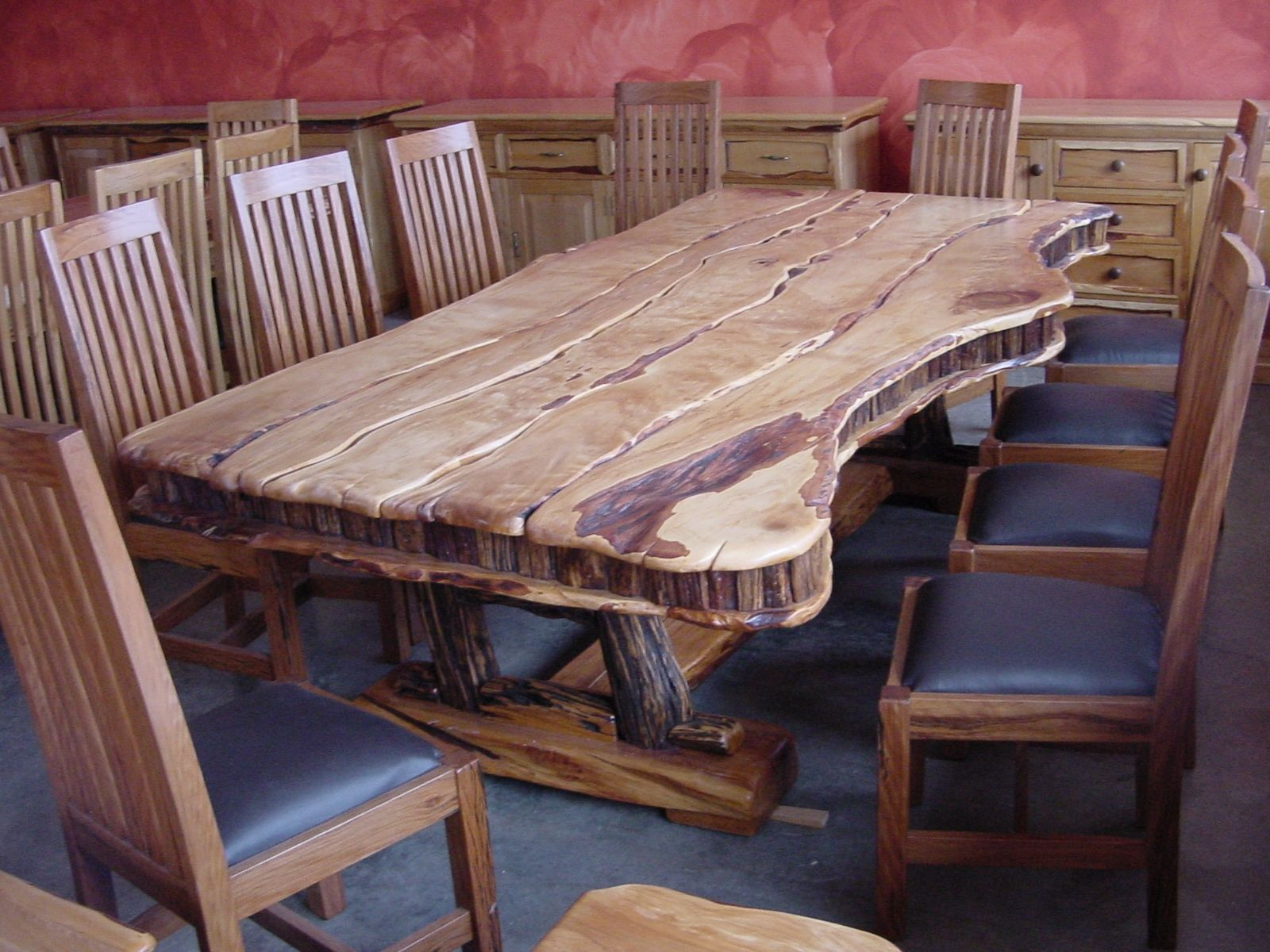 African Chairs 10 Seat Yellowood , Sneezewood by
