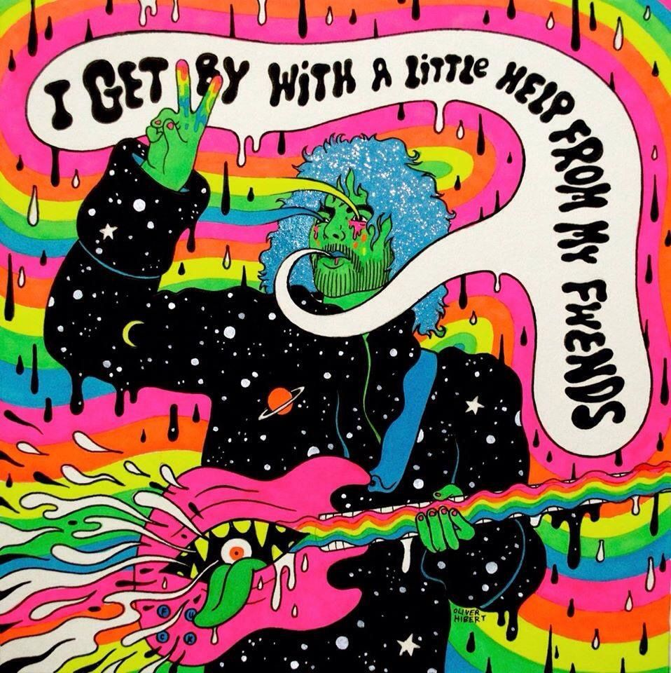 I Get By With A Little Help From My Fwends - Flaming Lips