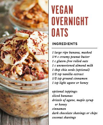 How To Make Overnight Oats And 11 Recipes You Can Make Now Vegan Overnight Oats Oats Recipes Recipes