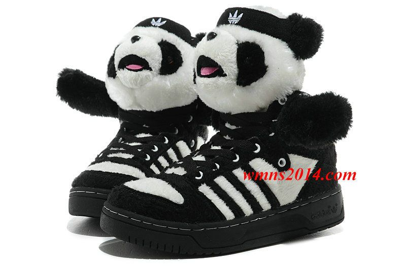 Originals Adidas Jeremy Scott Panda Bear Shoes For Men