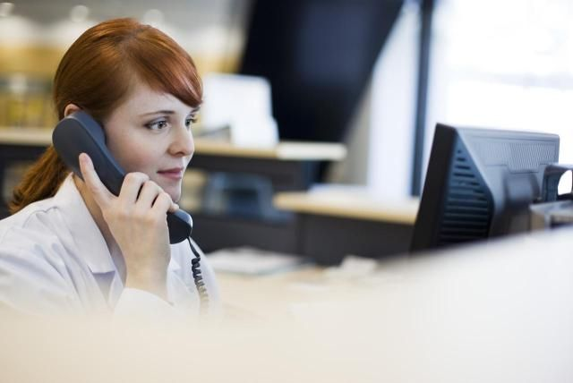 Does Your Receptionist Have Excellent Telephone Etiquette - medical receptionist