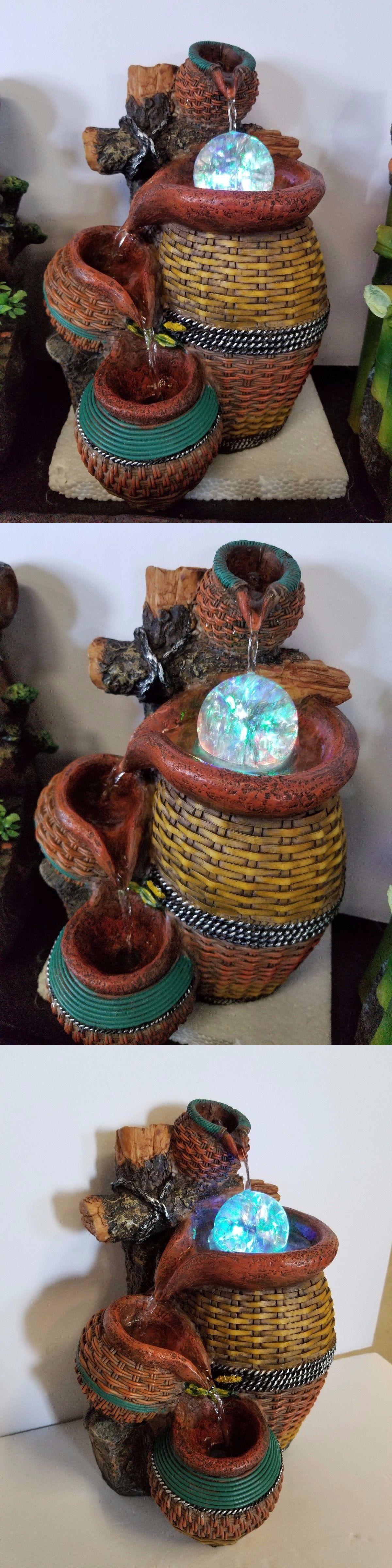 Indoor fountains 20569 indoor desktop led water fountain fountain indoor fountains 20569 indoor desktop led water fountain fountain buy it now only workwithnaturefo