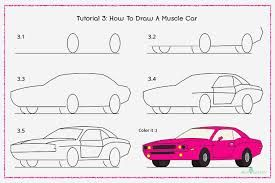 Keptalalat A Kovetkezore How To Draw Cars Step By Step Vehicles