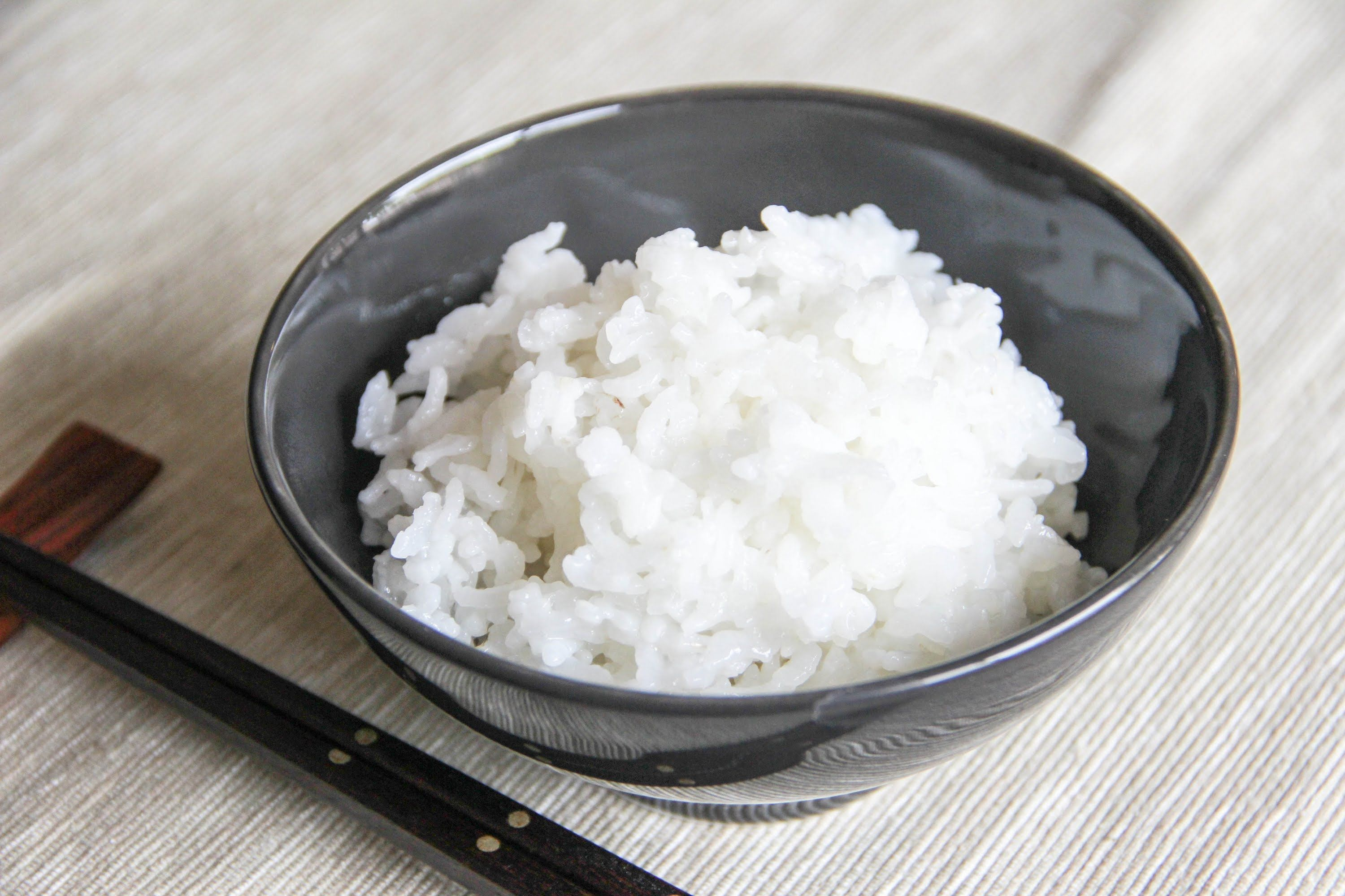 Steamed Rice Recipe Japanese Cooking 101 Steam rice