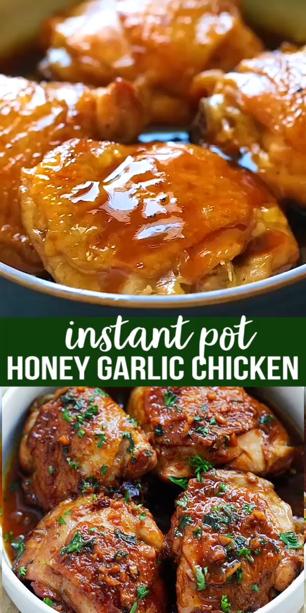Honey Garlic Chicken (Instant Pot)
