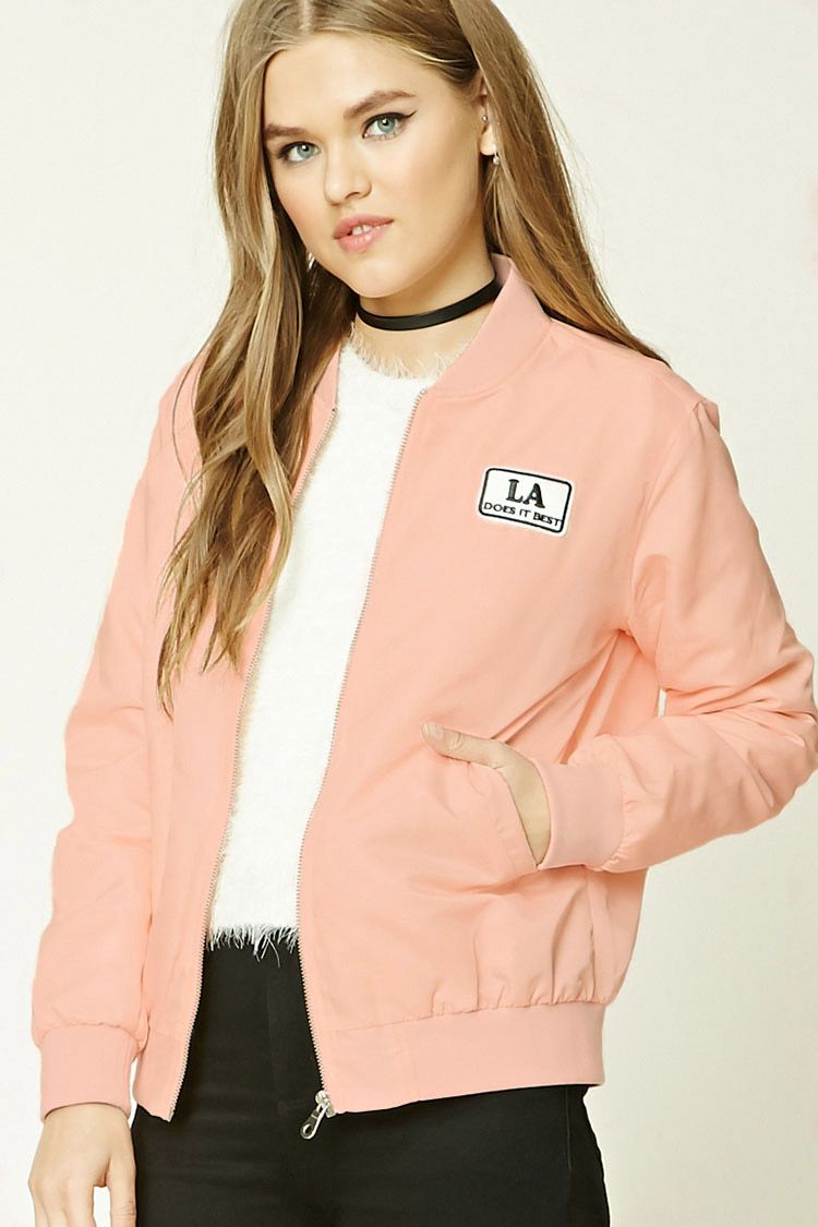 Patch Graphic Bomber Jacket Fashion Bomber Jacket Clothes [ 1125 x 750 Pixel ]