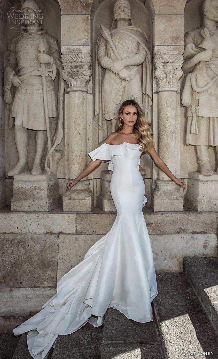Oved Cohen 2018 Wedding Dresses Wedding Inspirasi Beach Wedding Dresses Backless Wedding Dresses Perfect Wedding Dress [ 1485 x 900 Pixel ]