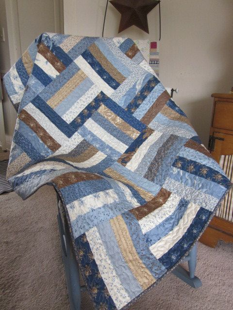 Blueberry Crumb Cake Quilted Lap Quilt by ...