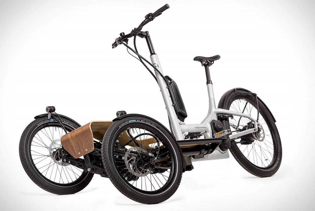Heisenberg CD1 Cargo e-Trike | Electric cargo bike, Cargo bike ...