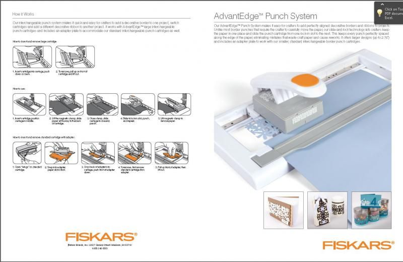 Rezultat iskanja slik za Fiskars AdvantEdge Punch System