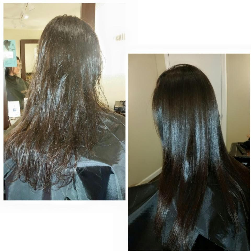 Brazilian Blowout Before And After By Katie At Radura Salon And Spa