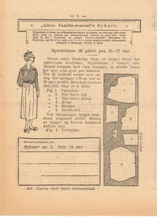 #ClippedOnIssuu from Allers familie journal v 44 no 1 jan 1, 1920
