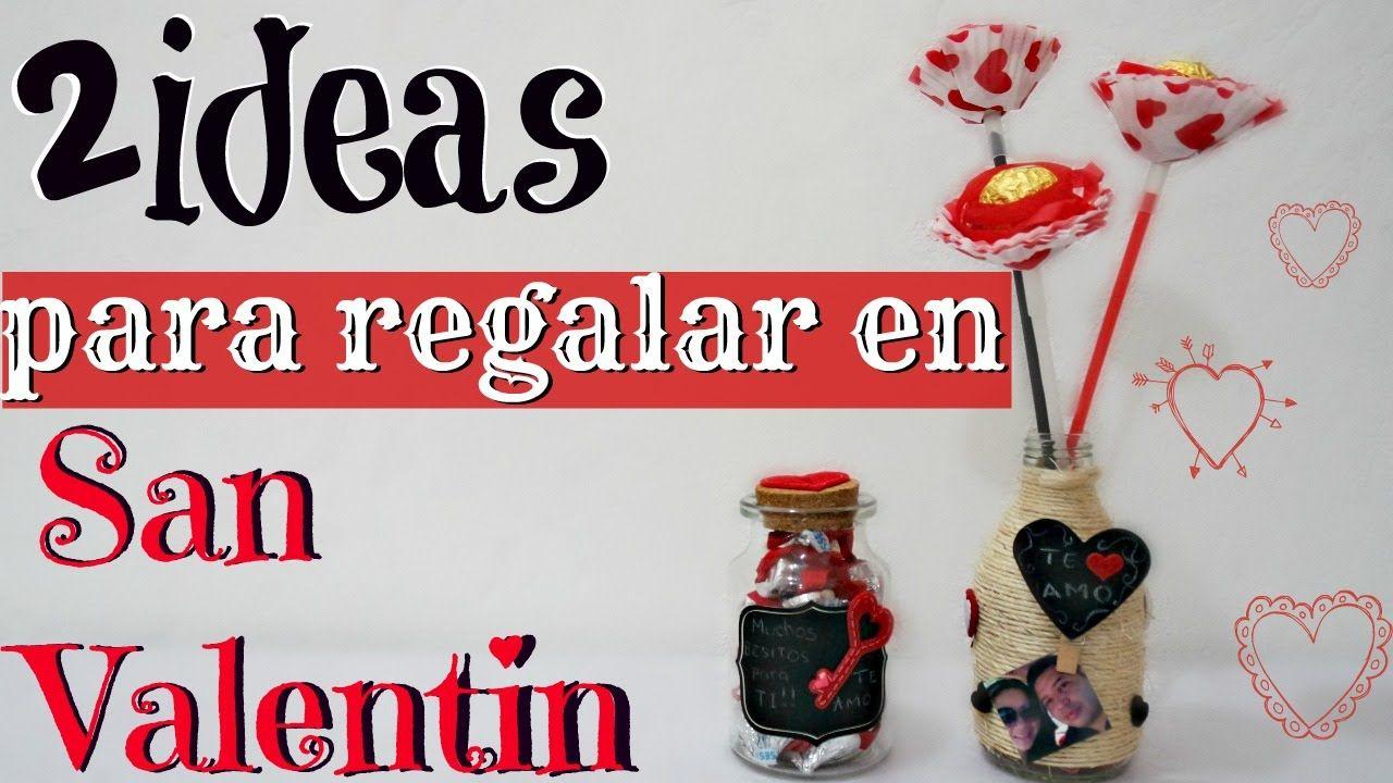 Diy Ideas Para Regalar En San Valentin Por Fantasticazul San  ~ Regalos Originales San Valentin