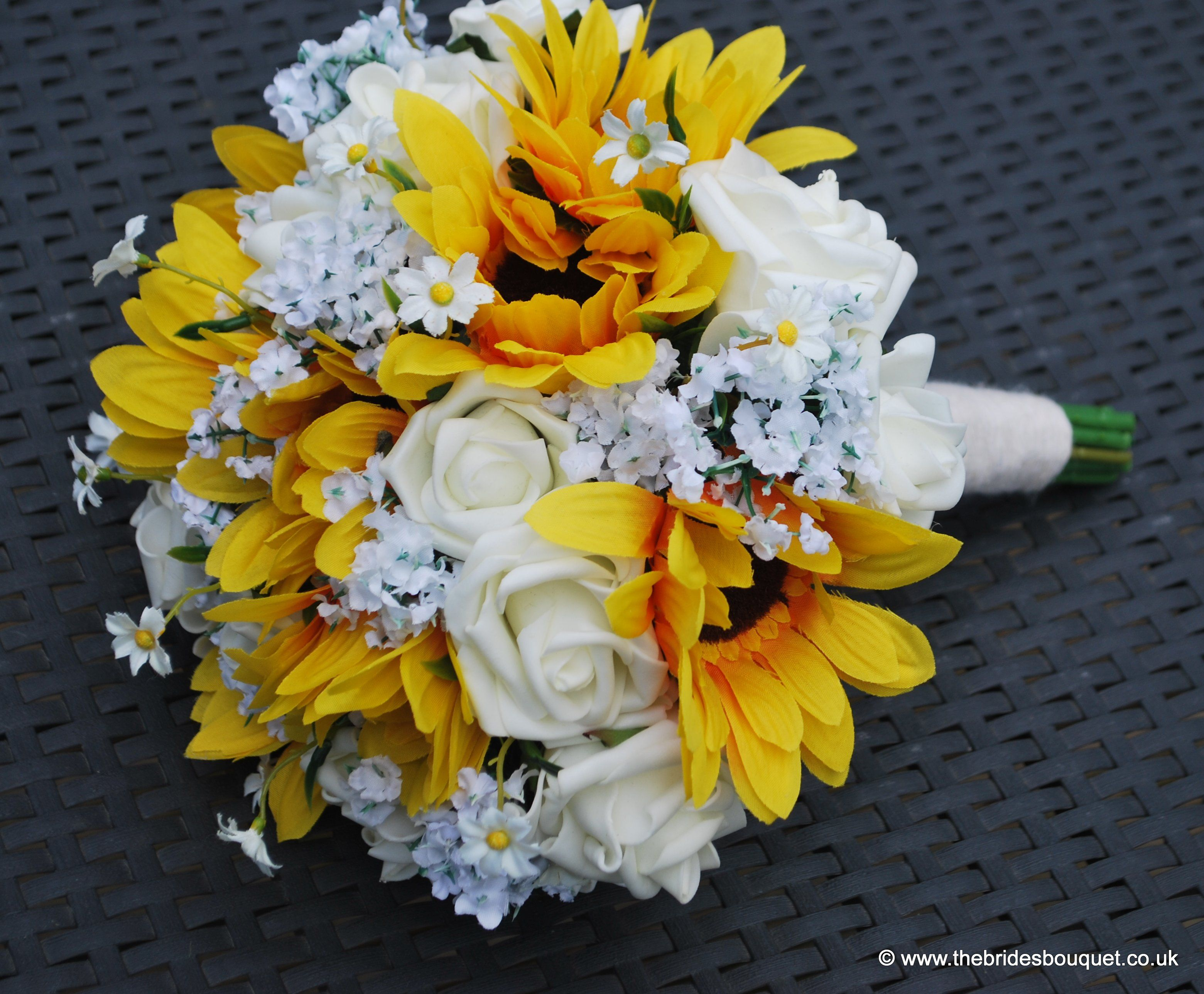 Sunflower Wedding Flowers bridal bouquets sunflower and