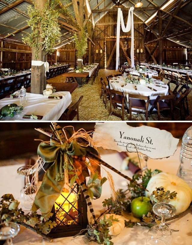 Hochzeitsdeko Rustikal hochzeitsdeko tisch laterne kürbisse früchte rustikal hochzeit