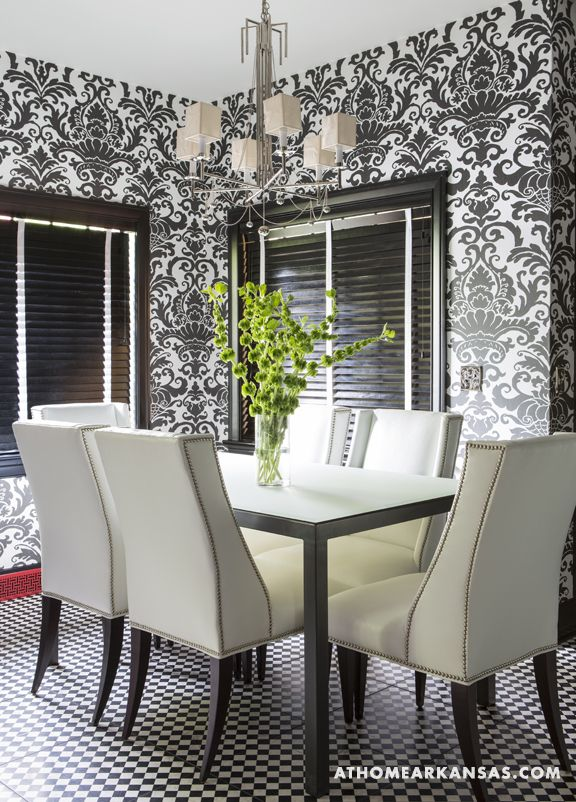In The Breakfast Room Precedent Chairs By Sherrill Furniture Surround A Dining Table From
