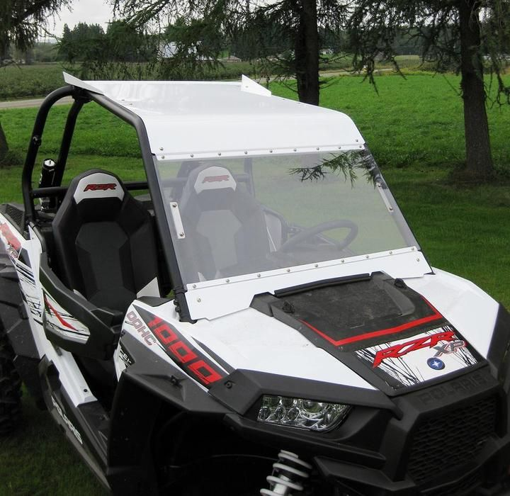 Holz Racing RZR XP 1000 Aluminum Roof With Windshield Combo