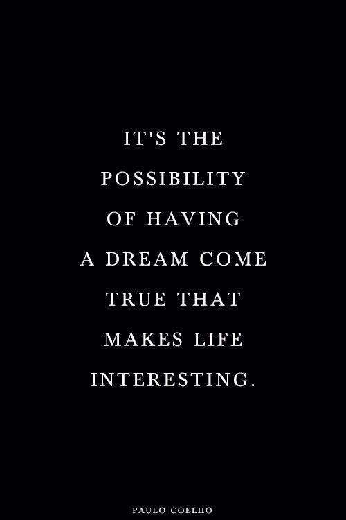 Maybe someday.