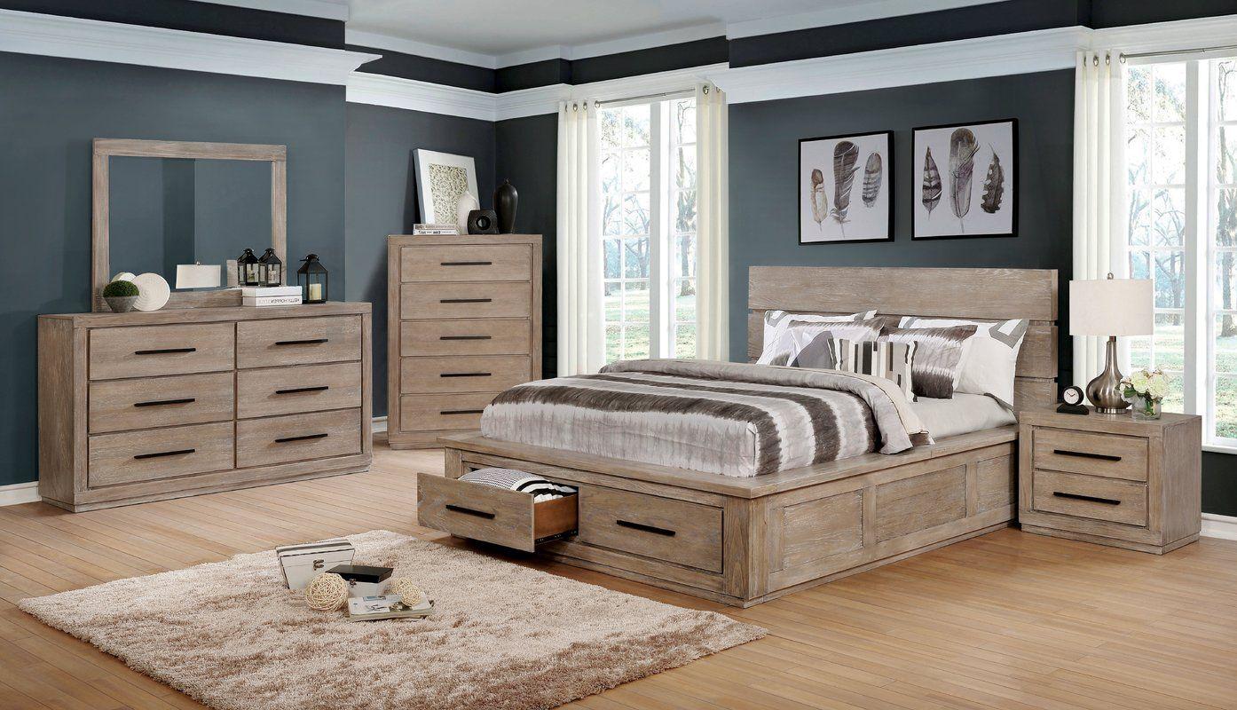 Gracie Oaks Mcmillen Panel Configurable Bedroom Set Wayfair Bedroom Sets Queen Bedroom Set King Size Bedroom Sets