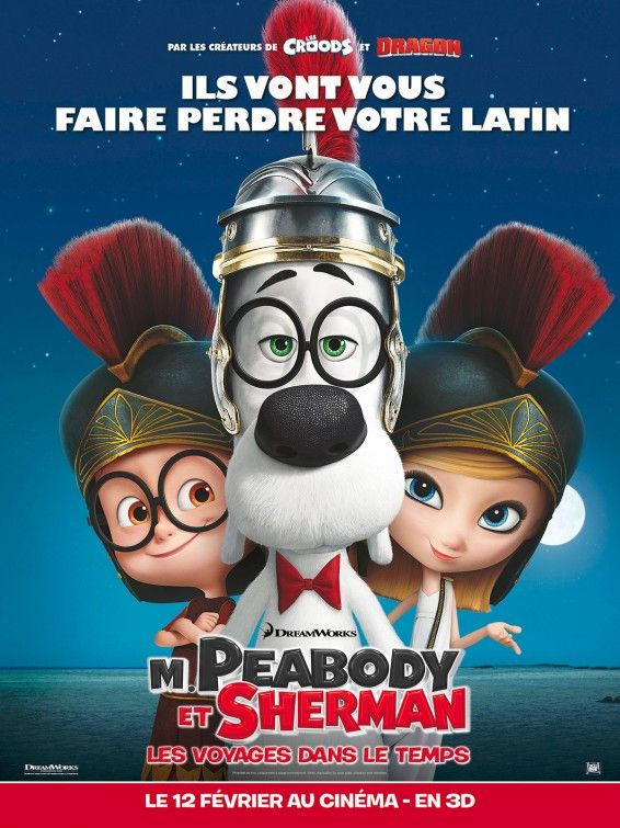 Mr Peabody Sherman Movie Poster With Images Mr Peabody