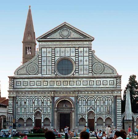 Firenze santa maria novella alberti quattrocento for Architecture quattrocento