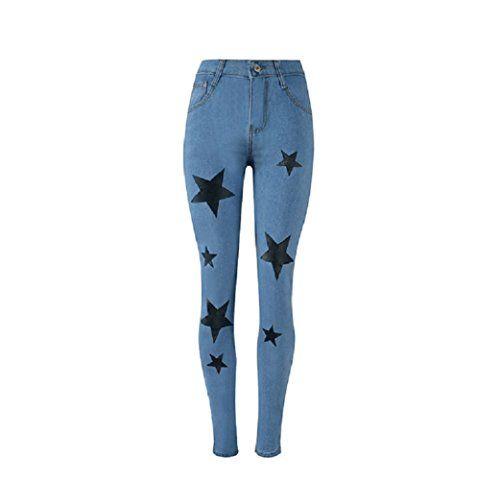 8a0a0ac2000 FuweiEncore Jeans Skinny Jeans Femme Jeans Hipster Jeans Skinny Jeans  Pantalon d été avec imprimé