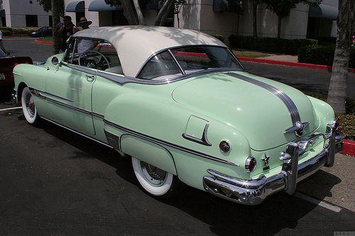 1952 Pontiac 2d htp – green – rvl