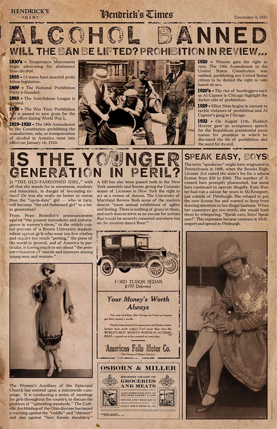 1920s news articles