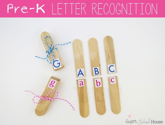 Letter Recognition PreK Use With Clothes Pins And Have