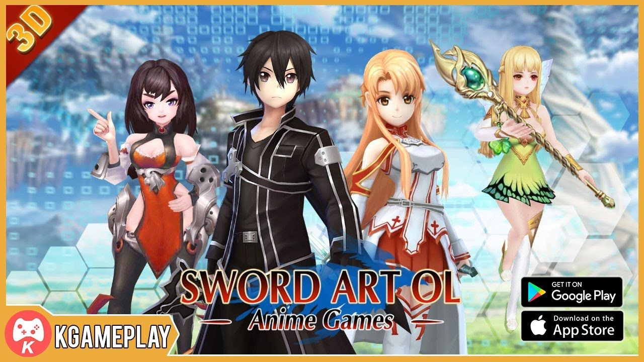 Sword Art Online Heartwarming Gameplay MMORPG Android iOS