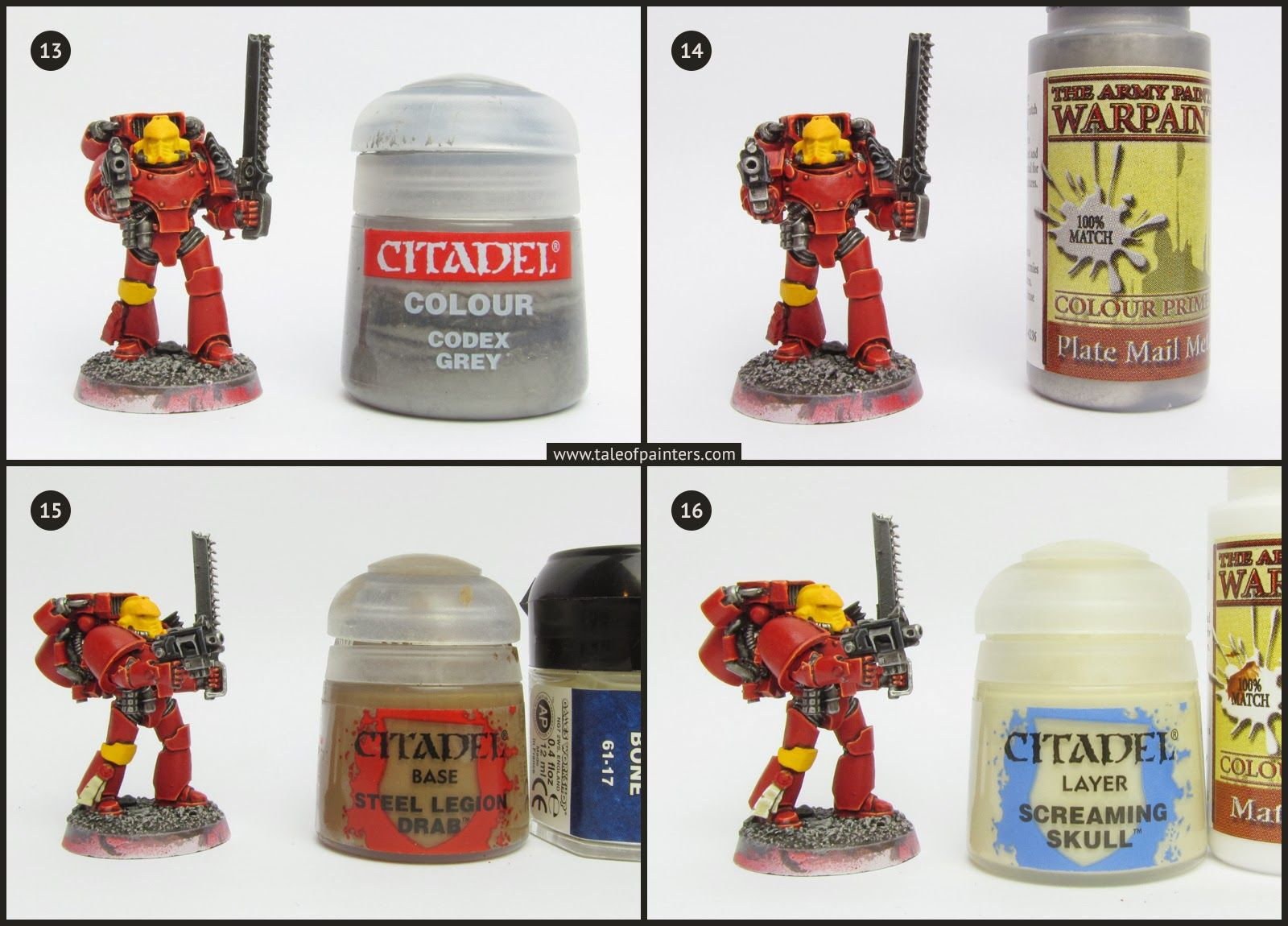 Tutorial How To Paint Blood Angels