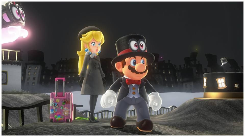 Look At Everything Then Peach S Suitcase Super Mario Odyssey Super Mario Gaming Pictures