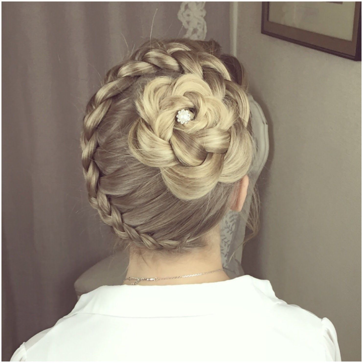 The Climbing Flower Braid by SweetHearts Hair Design | Sweethearts hair design, Flower braids ...