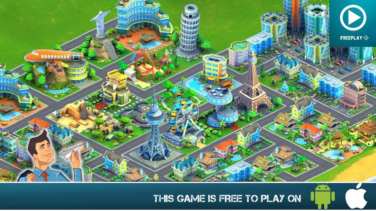 To Discover More Free Games Head To Http Einfogames Com If You Liked The Early Sim City Games You Will Definitely Love City Hacks City Island Airport City