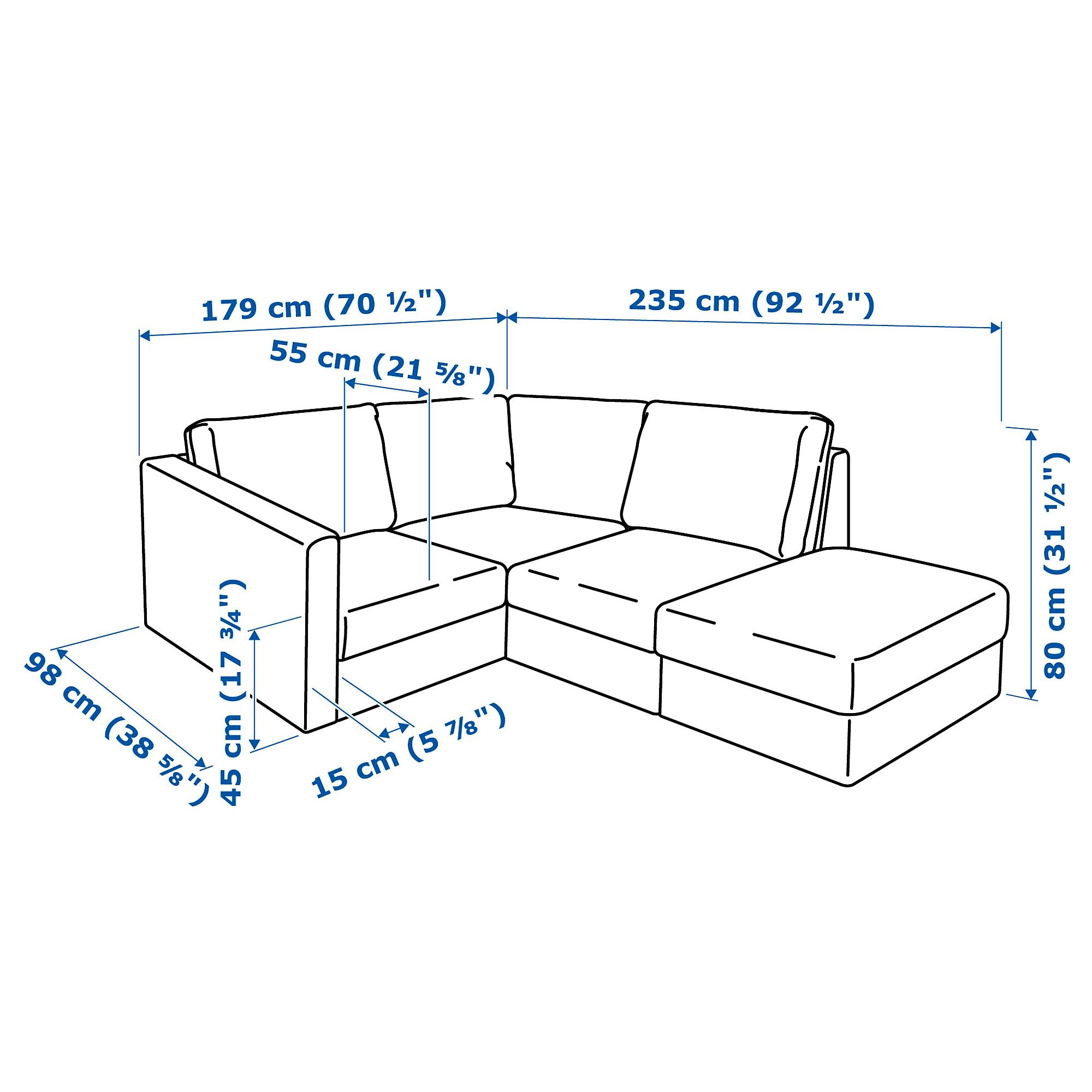 Furniture Home Furnishings Find Your Inspiration Ikea Ikea Vimle Sectional
