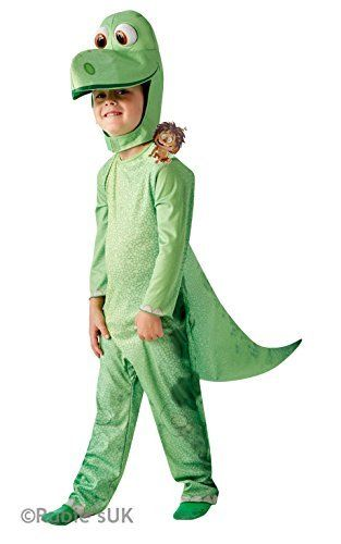 Amazon.com Arlo (The Good Dinosaur) - Kids Costume 5 - 6 years by Rubies Toysu2026  sc 1 st  Pinterest : amazon costumes kids  - Germanpascual.Com