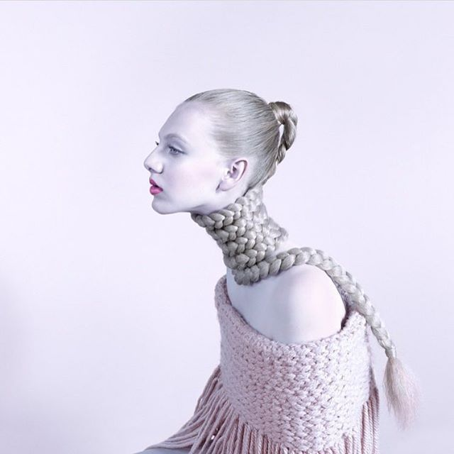 #baraprasilova #braids #pink #hairstyle #haircolor #style #fashion #muted #fashion #iconography