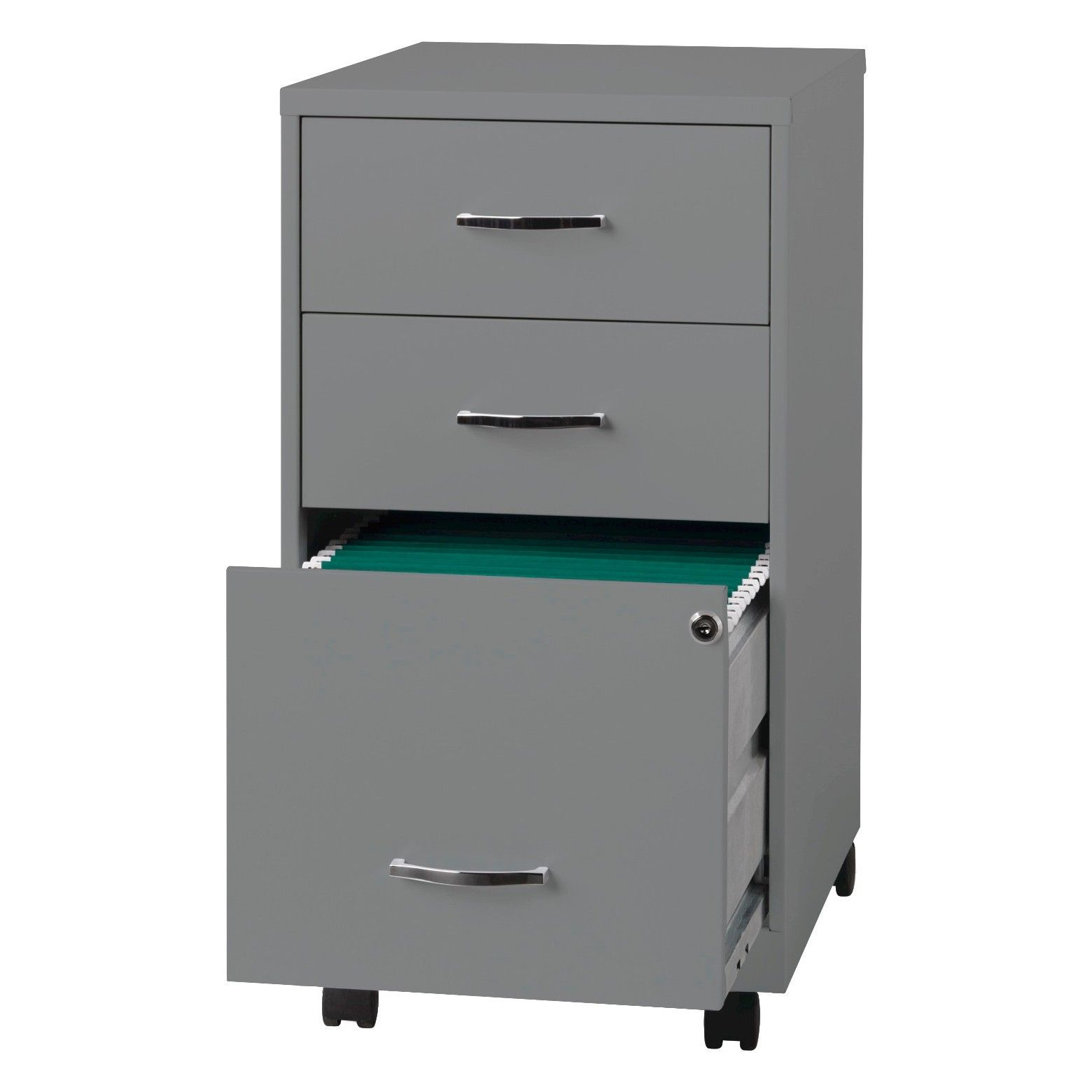 Organized Storage Is What The Hirsh Vertical 3 Drawer File Cabinet