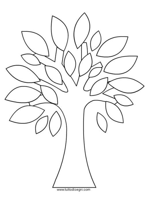 albero-foglie   Craft - Decoupage   Pinterest   Baum