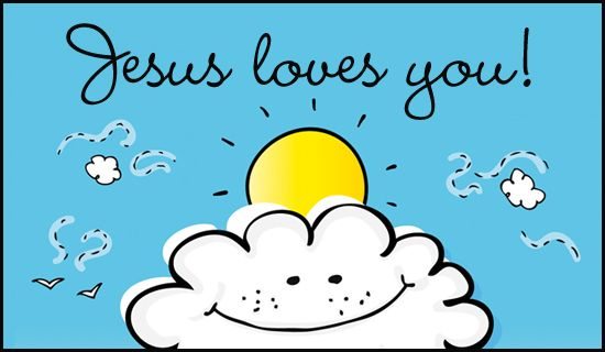 Free Jesus Loves You eCard eMail Free Personalized Love Cards – Personalized Birthday Cards Canada