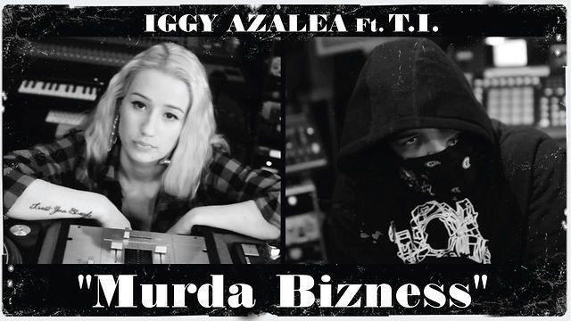Iggy Azalea Murda Bizness Ft T I In Studio Iggy Azalea Iggy Studio